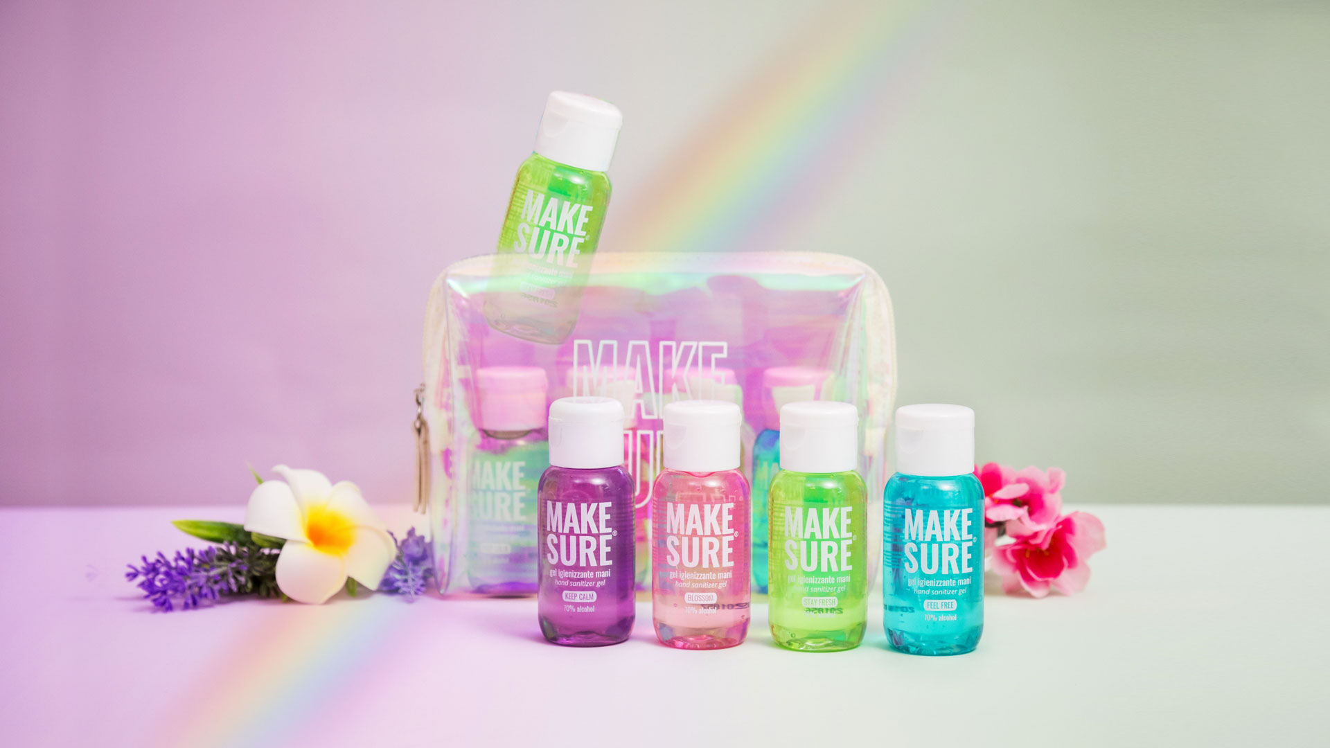 kit rainbow stay fresh promo make-sure